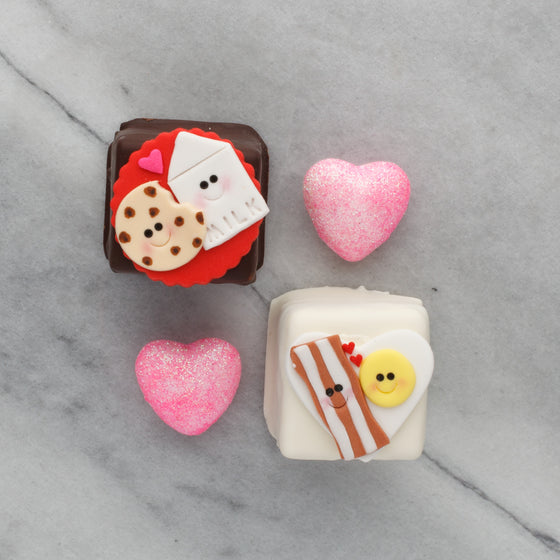 Valentine's Day Petit Four
