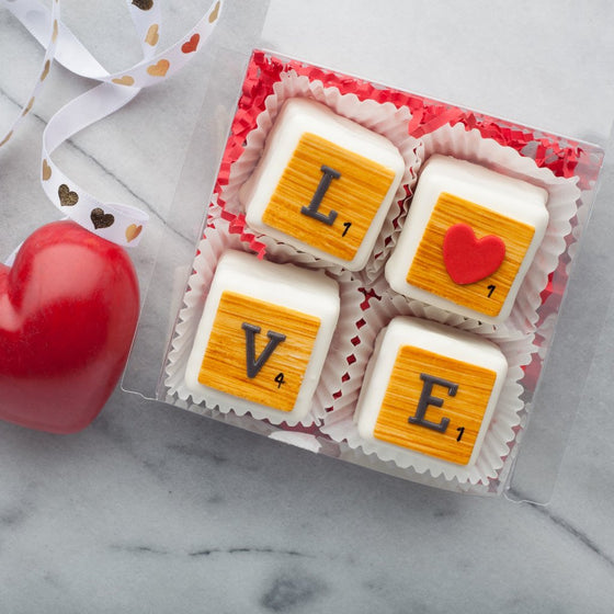Valentine's Day Petit Four Set