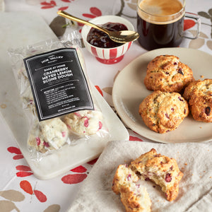 Cranberry Meyer Lemon Scone (6 pieces per pack)