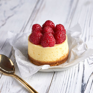 Cheesecake with Fresh Raspberries