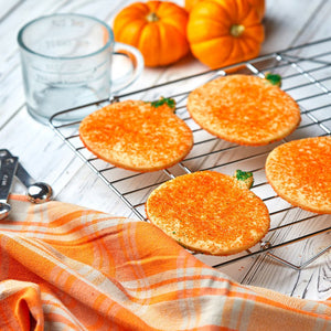 Pumpkin Cut-out Cookie