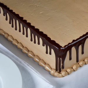 Salted Caramel Sheet Cake