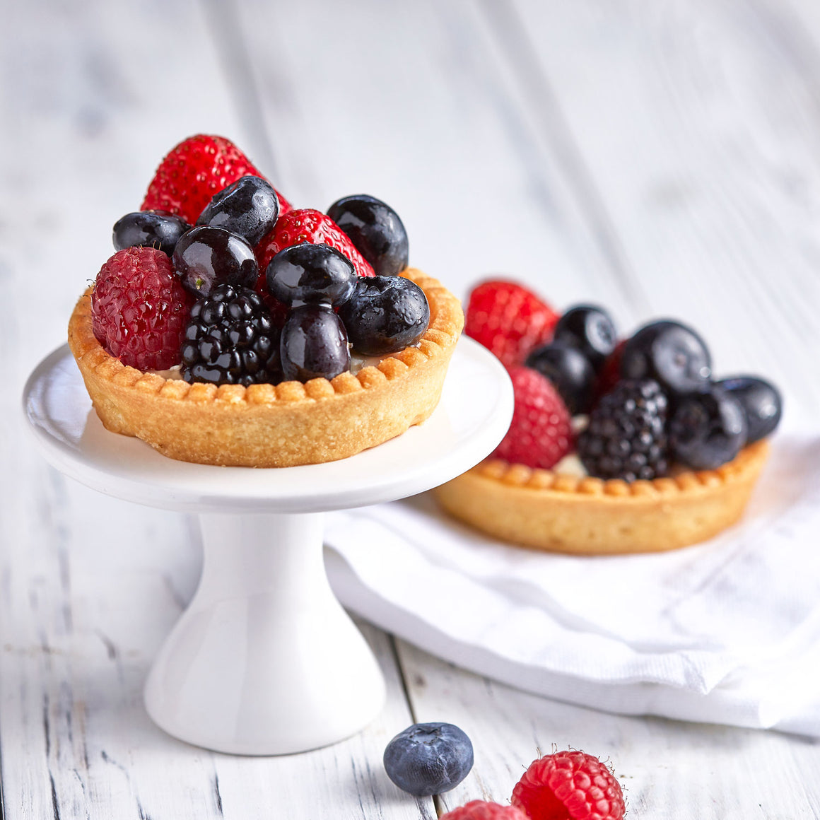 Small Fresh Fruit Tart