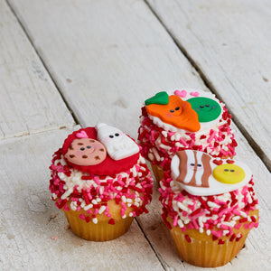 Valentine's Day Mini Cupcake