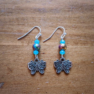 Water Butterfly Earrings