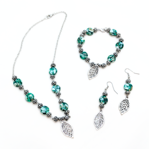 Emerald Marble Set