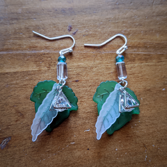 Spring Crystal Flight Earrings