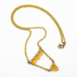 Amber Drops Necklace
