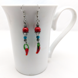 Spicy Chili Earrings