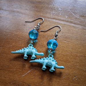 Water Dino Earrings
