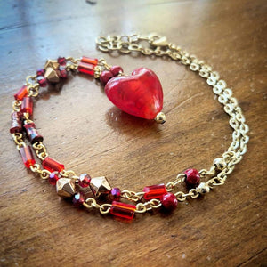 Valentine Crystal Necklace
