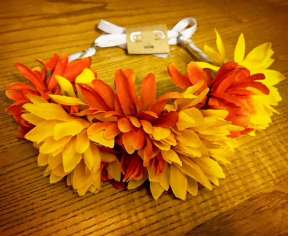 Bright Summer Flower Crown