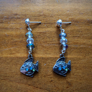 Shining Little Fish Earrings