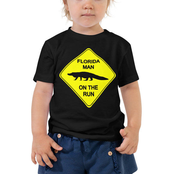 FLMOTR: Gator Crossing Sign - Toddler Tee