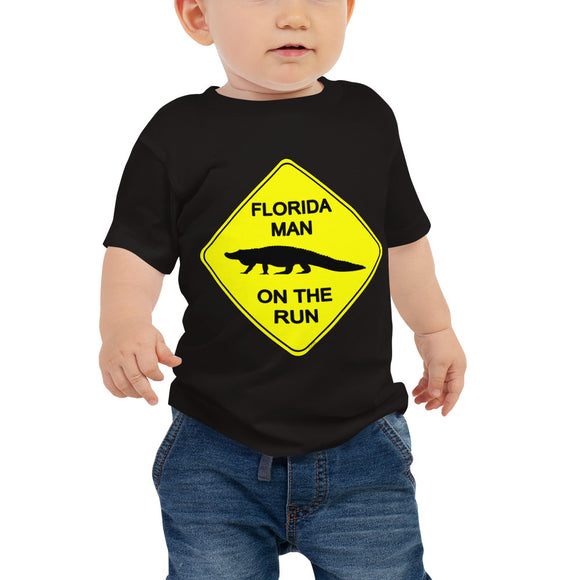 FLMOTR: Gator Crossing Sign - Baby Tee