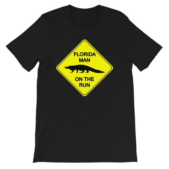 FLMOTR: Gator Crossing Sign T-Shirt