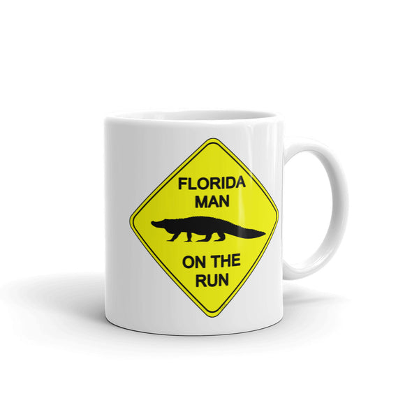 FLMOTR: Gator Crossing Sign - Mug