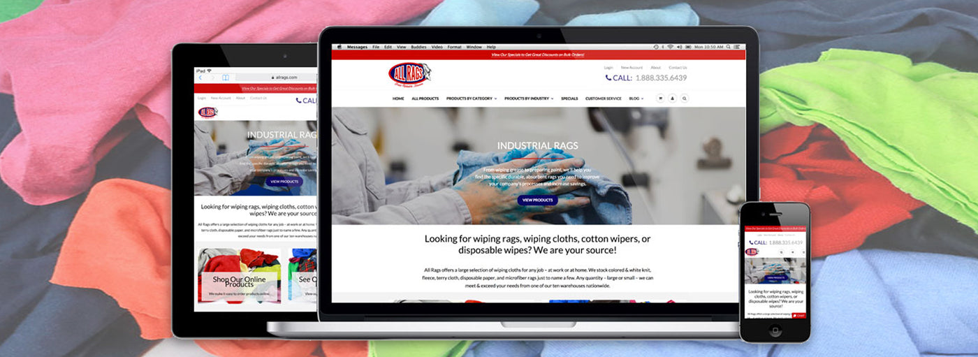 All Rags Launches New, User-Friendly Website