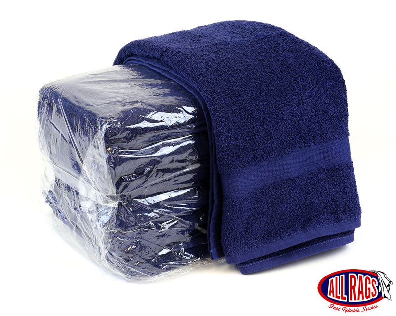 Premium Navy Terry Bath Towel