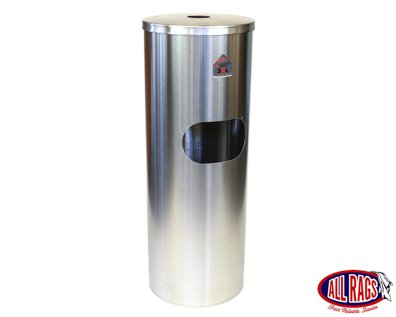 Self Standing Stainless Steel Wipes Dispenser