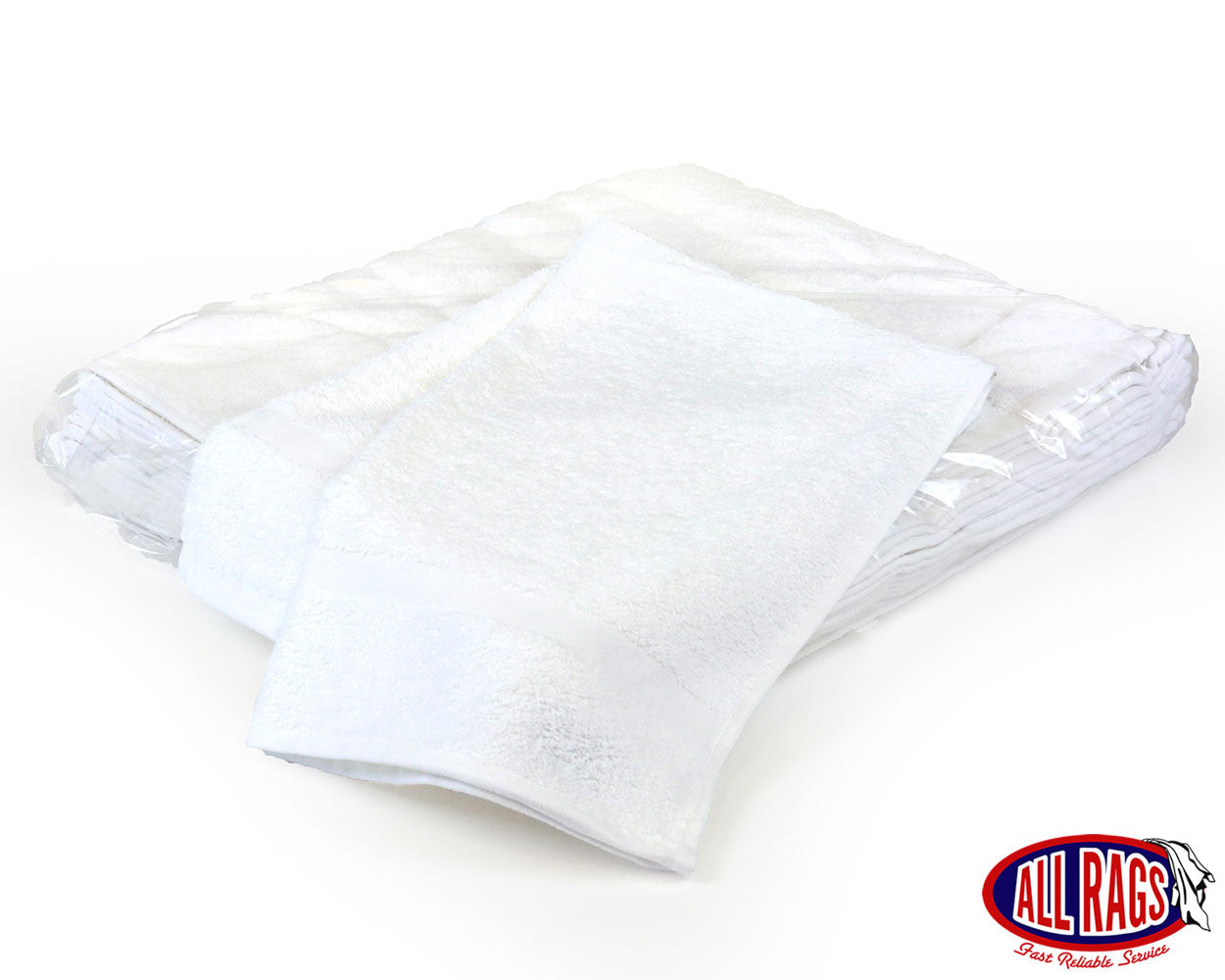New White Terry Cloth Hand Towel – All Rags 23570d599