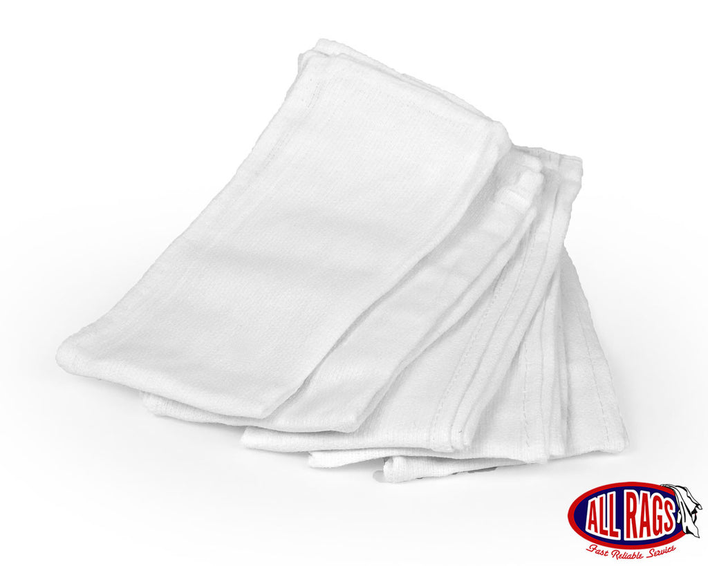 New White Huck Towels