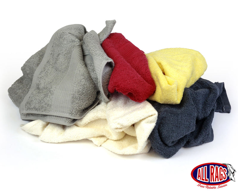 New Colored Terry Cloth Towels – Overruns