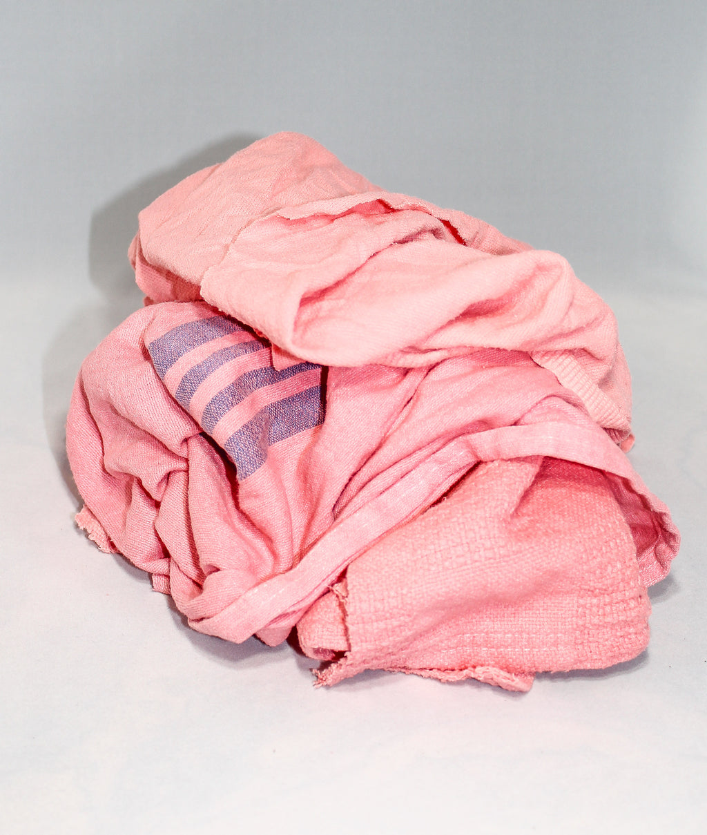 Recycled Pink Cotton Flannel
