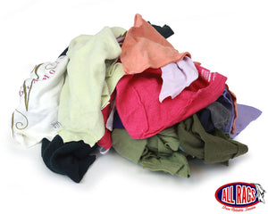 Recycled Colored Sweatshirt Rags
