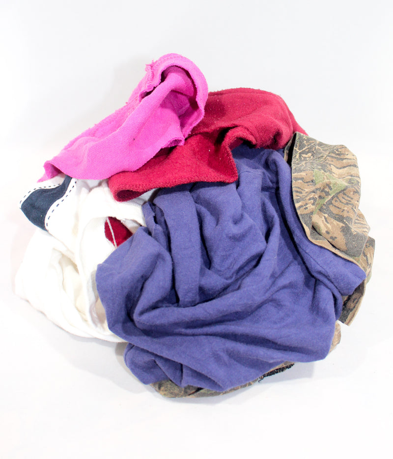 Recycled Mixed Colored Knit Rags
