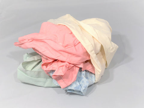 Colored Cotton Rags