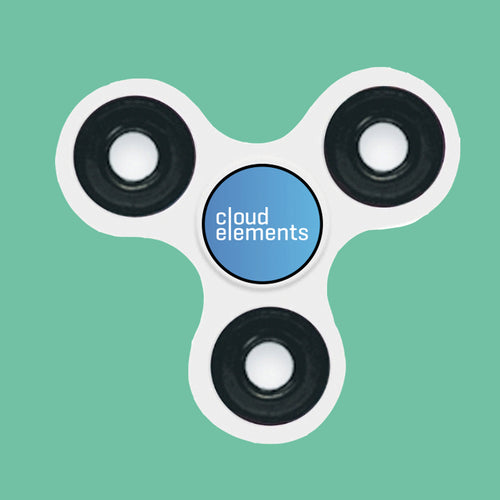 Cloud Elements Fidget Spinner