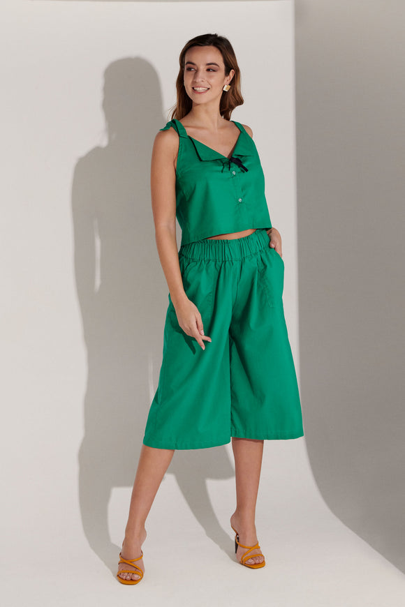 Delphine Top Rayon - Green