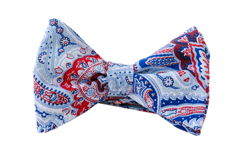 American Paisley Bow Tie