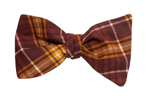 Butter Pecan Adult Bow Tie