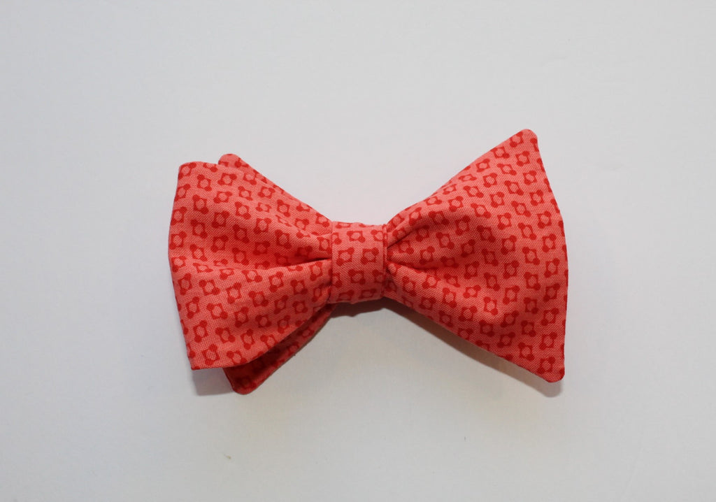 Salmon Stars Adult Bow Tie