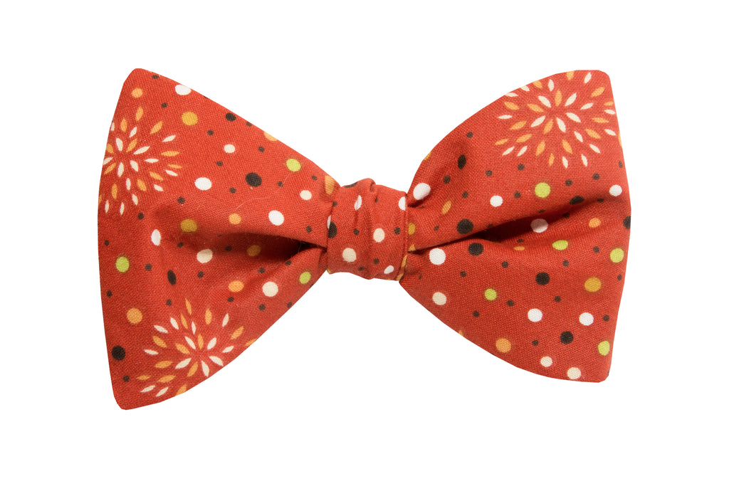 Fall Fireworks Adult Bow Tie