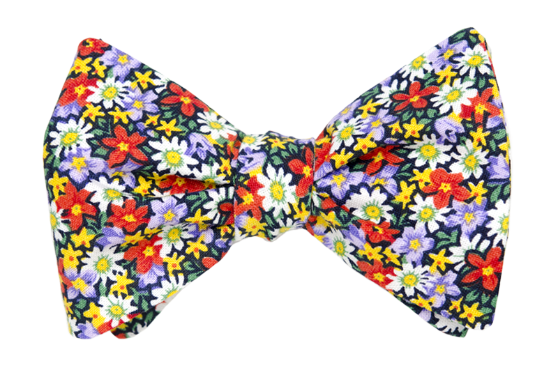Power Flower Bow Tie