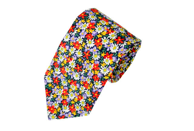 Power Flower Necktie
