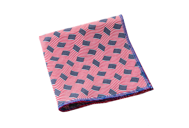 Land of the Brave Pocket Square