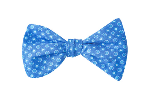 Sky Dots Adult Bow Tie