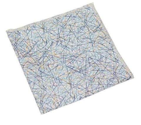 Straight Winds Pocket Square