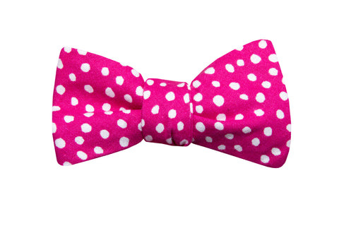 Pink Bubble Gum Youth Bow Tie