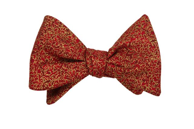 Renaissance Crimson Adult Bow Tie