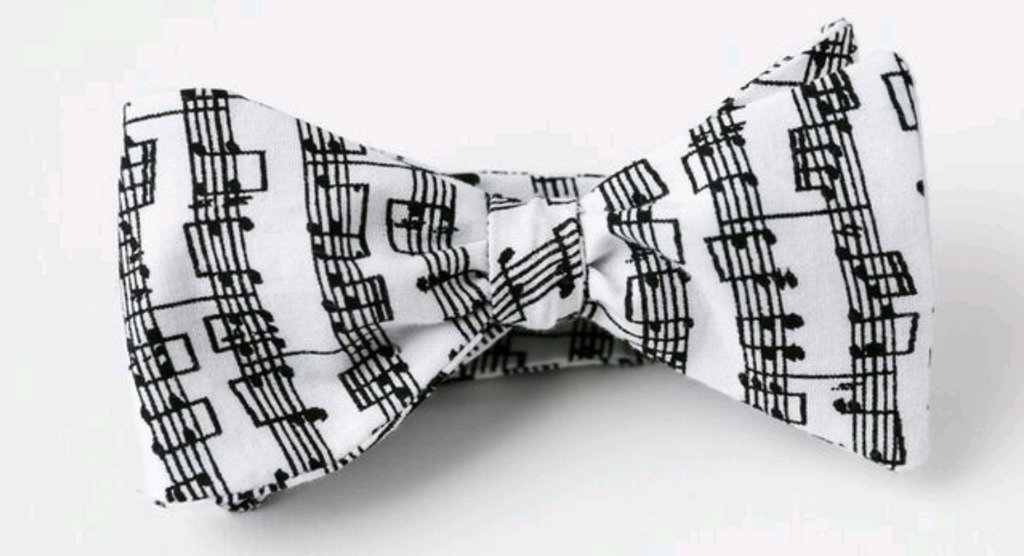 Sheet Music Youth Bow Tie