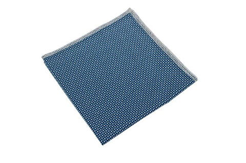 Steven Blue Adult Pocket Square