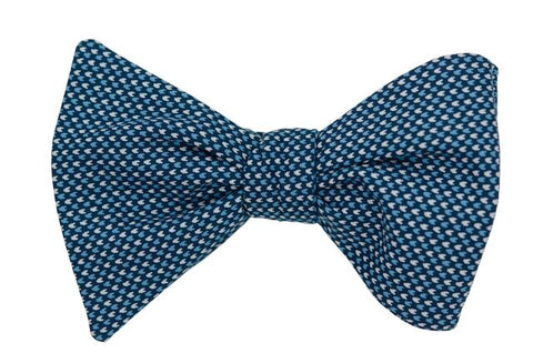 Steven Blue Youth Bow Tie
