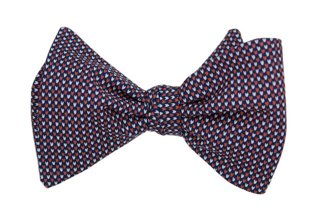 Steven Red Adult Bow Tie