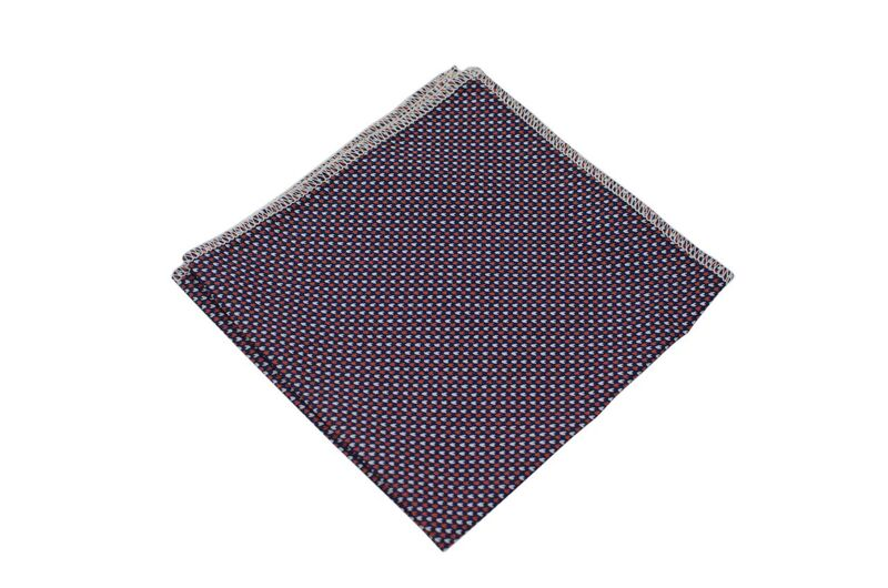 Steven Red Adult Pocket Square
