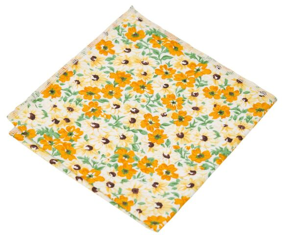 Sunny Sunflower Pocket Square